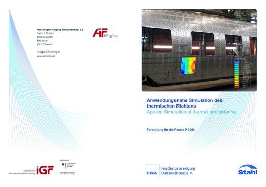 Fostabericht P 1008 - Anwendungsnahe Simulation des thermischen Richtens