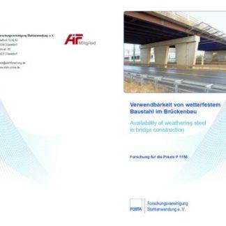 Fostabericht P 1150 - Verwendbarkeit von wetterfesten Baustahl im Brückenbau