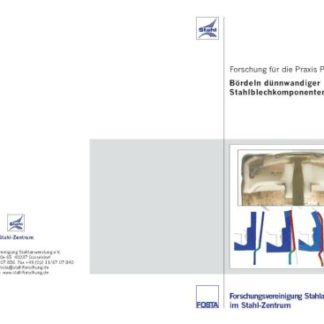 Fostabericht P 540 - Bördeln dünnwandiger Stahlbelchkomponenten
