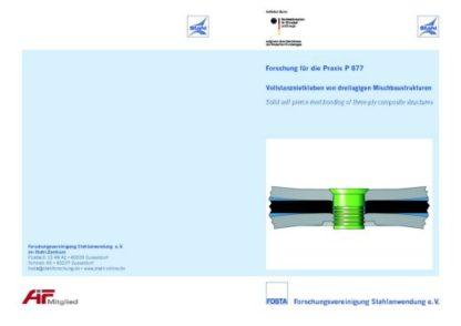 Fostabericht P 877 - Vollstanznietkleben von dreilagigen Mischbaustrukturen