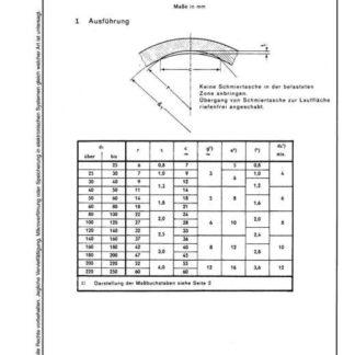 Stahl-Eisen-Betriebsblatt (SEB) 601 221 - Schmiertaschen für geschlossene Lager bei Fett- und Ölschmierung (Teil 1-4)
