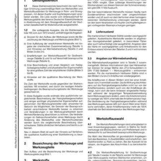 Stahl-Eisen-Lieferbedingungen (SEL) 201 - Werkstoffe für Werkzeuge in Rohr- und Strangpressen für die Verarbeitung von Kupfer und Kupferlegierungen