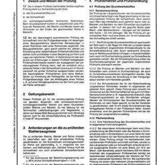 Stahl-Eisen-Prüfblatt (SEP) 1916 - Zerstörungsfreie Prüfung schmelzgeschweißter ferritischer Stahlrohre