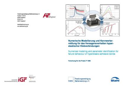 Fostabericht P 1086 - Numerische Modellierung und Kennwertermittlung für das Versagensverhalten hyperelastischer Klebverbindung