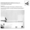 Fostabericht P 163 - Untersuchung winderregter Schwingungen an Stahlschornsteinen