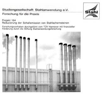 Fostabericht P 164 - Reduzierung der Schallemission von Stahlschornsteinen