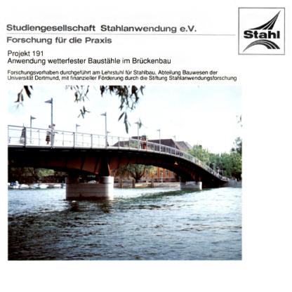 Fostabericht P 191 - Anwendung wetterfester Baustähle im Brückenbau