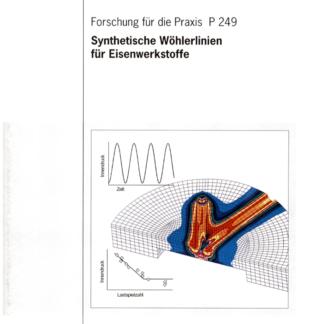 Fostabericht P 249 - Synthetische Wöhlerlinien für Eisenwerkstoffen