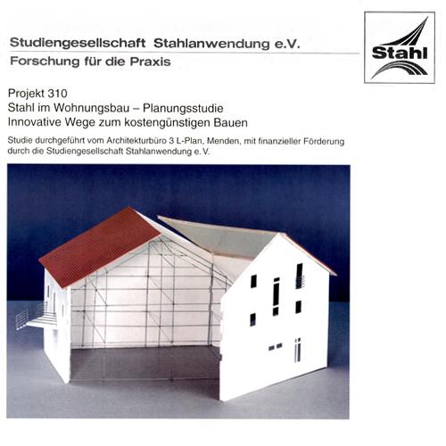 Fostabericht P 310 - Stahl im Wohnungsbau - Planungsstudie - Innovative Wege zum kostengünstigen Bauen