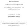 Fostabericht P 482/S 513 - Konstruktion und Berechnung von Leichtbauseiltrieben