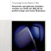 Fostabericht P 551 - Gespannte und geformte Schattenmasken aus Stahl mit 36% Ni für großformatige und flache Bildröhren