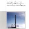 Fostabericht P 612 - Entwicklung und Bemessung eines neuen modularen Antennentragwerkes