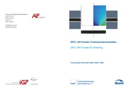 Forschungsbericht P 885 - DFG/AiF-Cluster Trockenscherschneiden