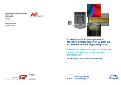 Titelbild FOSTA Forschungsbericht P 1237
